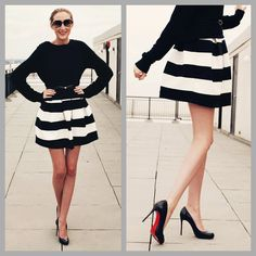 My Style Diary: Black and White - Carly Cristman- fashion, beauty and lifestyle blog