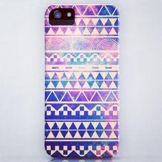 Purple tribal case