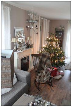 weiße weihnacht* - wohnen und garten foto | wunderschön, Haus und garten