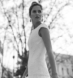Campaña @bebascloset  Todos los detalles hoy en la web����link en bio! . . . #photo @pipi_hormaechea #model @blowmodels #jewelry @beatrizpalacios_jewelry #work #new #web #reginacapdevila #makeup #hair #campaign #bride #bebascloset #novia #vestidos #vestidonovia #weddingdress #weddingmakeup #photooftheday #blackandwhite http://gelinshop.com/ipost/1521772670616739249/?code=BUebC5lAh2x