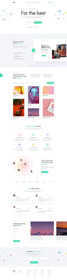 Introducing Onne Onne is a beautiful, multipurpose template with trendy design web pages which responds to the most demanding customers. Perfectly suits for business companies, design & development.. #webdesigninspiration #webdesign #psd