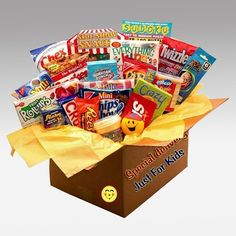 Kids Blast Deluxe Activity Care Package: Food Gifts : Walmart.com
