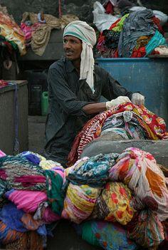 Dhobi Walla (washer man) - India