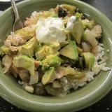 Linked to: rchreviews.blogspot.com/2016/09/tomatillo-chicken-rice-bowl.html