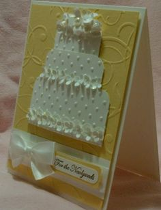 Here Comes the Bride by craftiepants - Cards and Paper Crafts at Splitcoaststampers