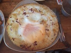 Make a feast of breakfast. Wingseggs can do frieds ostrich eggs. Imagine the size! You will have to let them know 2 days in advance, though.  >> http://www.timeout.com/london/blog/eggstreme-eating-a-london-restaurant-has-started-frying-whole-ostrich-eggs