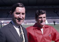 Frank O'Farrell with his assistant Malcolm Musgrove