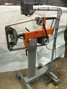 50mm x 1800 -2500mm belt grinder