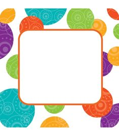 Calendar Activities, Sorting Activities, Happy Birthday Rainbow, Boarders And Frames, Frame Border Design, Printable Frames, Carson Dellosa, Game Pieces, Classroom Themes