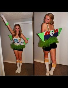 oh my gosh.  cutest costume ever.  for college costume parties :) gotta love buzz lightyear
