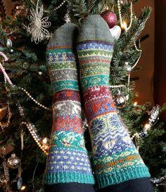 Missä neuloimme kerran: joulukalenteri 2014