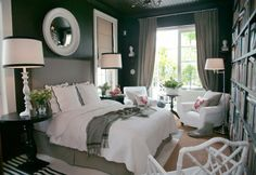 """Of course you can have DARK WALLS - just put in enough """"light"""" to balance it! Simple! =)"""