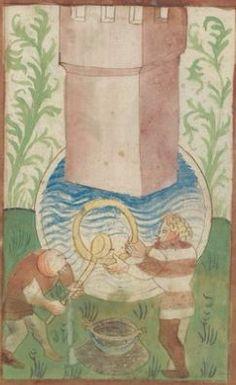 Kriegstechnik (Bilderhandschrift) Oberrhein · um 1420-1440 Ms. Rh. hist. 33b  Folio 110r