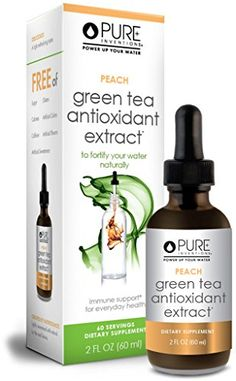 Pure Inventions - Antioxidant Green Tea Extract - Peach (60 Servings) - 2 Oz >>> See this great product.