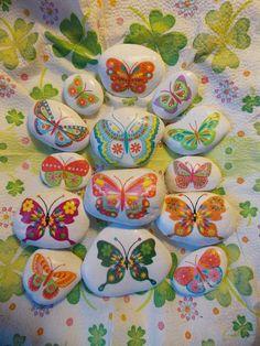 Motýliky pre šťastie etno