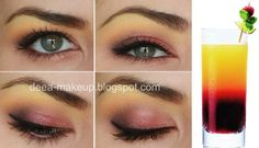 Tequilla Sunrise Inspired Make-up  http://deea-makeup.blogspot.ro/2011/10/tequilla-sunrise-inspired-make-up.html