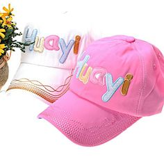 Stylish Letter Pattern Cotton Sports Women39s Truck Cap Hat  Price: $10.20 USD