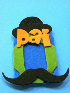 Lembrancinhas para o dia dos pais 2013  www.petilola.com.br porta retrato ímã 3x4