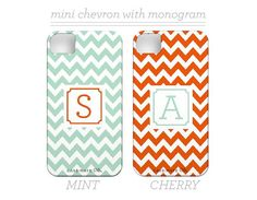 supa cute monogrammed iphone cases