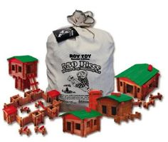 Roy Toys Log Building Set | Made in USA