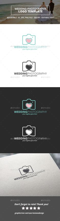 Wedding Photography Logo - Objects Logo Templates
