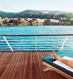 Best Cruise Ships in the World: Condé Nast Traveler's 2013 Cruise Poll : Condé Nast Traveler One day those will be my feet!
