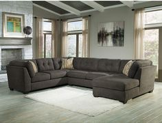 Signature Design by Ashley Delta City 3-pc. Sofa Sectional