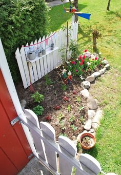 corner in the garden - just for kids.