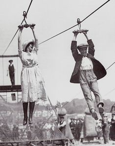 Some kind of having fun in 1920's