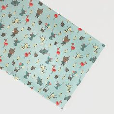 We like to party! Party Animals, Alpaca, Bunt, Etsy, Cards, Poplin, Blue Grey, Cotton Textile, Cutest Animals