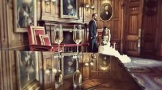 Ashford Castle couple in the Connaught Room Ashford Castle Hotel, West Coast Of Ireland, Most Romantic, Castles, Wedding Day, Couple, Room, Bedroom, Chateaus