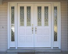 Double Door Entry | Entry Doors With Sidelights: The Use And Advantages:  Modern Entry