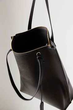 1cb128da01 Silence + Noise Zip Pebbled Faux Leather Tote Bag. Handmade BagsBackpack ...