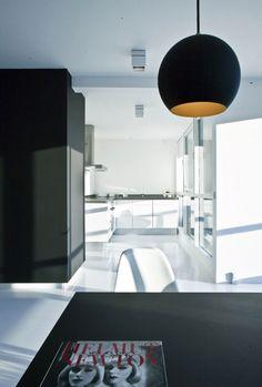 Copenhagen Minimalistic Penthouse | Inspirations Area