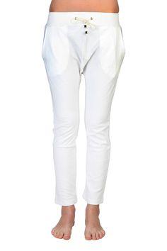 Chloe Pants In White