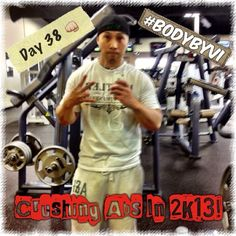 First day back in the gym after a week and half because of the pesky snow. Carving out the 6-pack today for day 38 of my Challenge!  #visalus #bodybyvi #challenge #90daychallenge #fitguy #fitspo #fitness #weightlifting #weighttraining #abs #core #6pack #beastmode #instafitness #health #exercise #gym