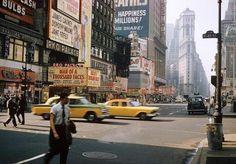 Old New York — swinginglamour:   New York City, 1950's.