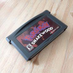 c4abbd31 Pokemon Snakwood Repro cart for Nintendo Gameboy Game Boy Advance. Brand new,  perfect save. Depop