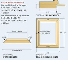How to Make a Picture Frame  Step-by-step Guide on How to Make a Picture Frame