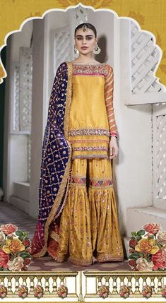 Pakistani Mehndi Dress, Pakistani Party Wear, Pakistani Wedding Dresses, Pakistani Outfits, Indian Outfits, Mehendi Outfits, Bridal Outfits, Lehenga, Anarkali