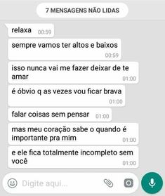 Text Quotes, Love Quotes, Phrase Of The Day, Stupid Love, Couple Texts, Learn Portuguese, Crush Love, Little Bit, Love Phrases