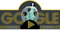 Actress and Inventor Hedy Lamarr's 101st birthday #GoogleDoodle