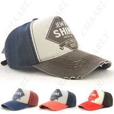 b7ca0793f4 Adjustable Fashionable Sunhat Baseball Cap Sports Hat for Women Men -  Chaarly Inc