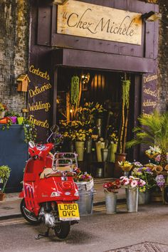 Chez Michele, Borough Market London by JSWoodhams