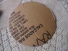 Faça você mesmo meu amor | Sousplats de Tecido e Estopa | Casando Sem Grana