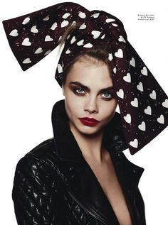 VOGUE AUSTRALIA EDITORIAL FEATURE CARA DELEVINGNE YEAH BABY SHES GOT IT PHOTOGRAPHER DAVID BAILEY STYLED BY CHRISTINE CENTENERA BURBERRY HEA...