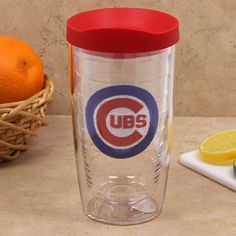 Chicago Cubs 16 oz. Insulated Tumbler w/ Spill-Proof Lid by Tervis | SportsWorldChicago.com #ChicagoCubs @Cubs