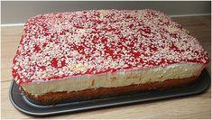 Spaghettieis Blechkuchen – GesundeRezepte.eu Donut Recipes, Healthy Dessert Recipes, Easy Desserts, Baking Recipes, Dessert Food, Easy Summer Meals, Summer Recipes, Fall Recipes, 100 Calories