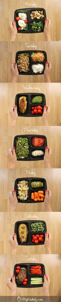 ^^ 7 Days Of Healthy Meal Prep Ideas – Ready To Eat Meals and Protein On The Go Recipes