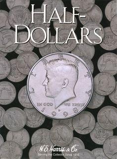 PDS NEW!! Harris Sacagawea Dollar 2000-2004 Coin Album